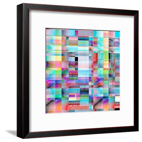 Abstract Bright Background-Tanor-Framed Art Print