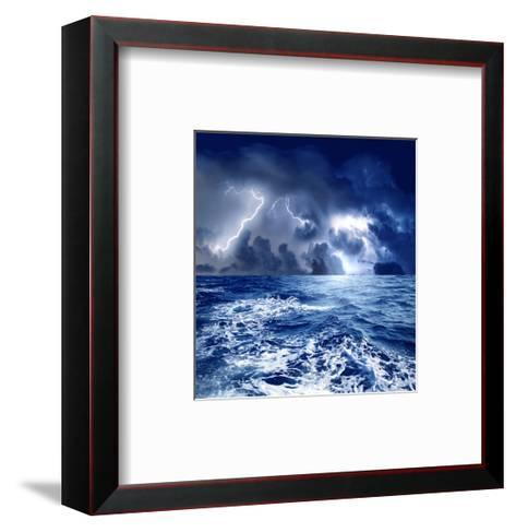 Storm-olly2-Framed Art Print