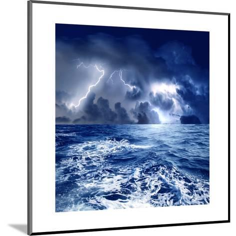 Storm-olly2-Mounted Art Print