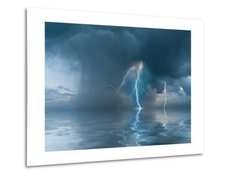 Landscape with the Thunderstorm-firewings-Metal Print