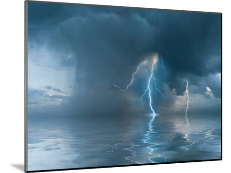 Landscape with the Thunderstorm-firewings-Mounted Art Print