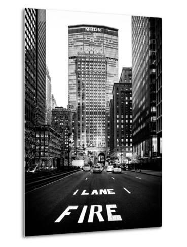 The Metlife Building Towers over Grand Central Terminal at Nightfall-Philippe Hugonnard-Metal Print