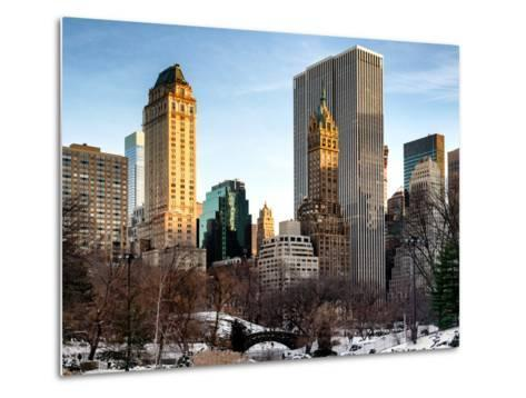 NYC Architecture and Buildings-Philippe Hugonnard-Metal Print