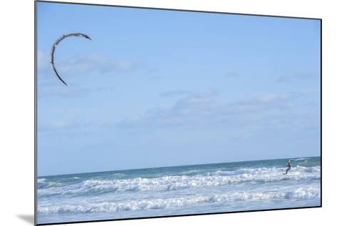 USA, Florida, New Smyrna Beach, kite surfer.-Lisa S^ Engelbrecht-Mounted Photographic Print