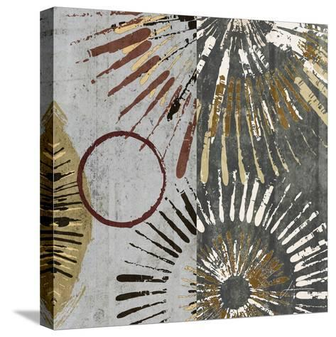 Outburst Tiles II-James Burghardt-Stretched Canvas Print