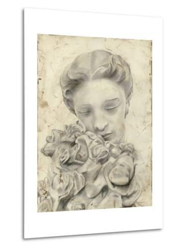 Statue in the Garden I-Megan Meagher-Metal Print
