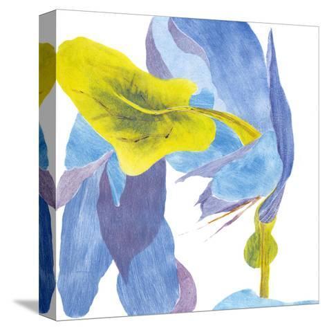 Surprise Indigo III-Carolyn Roth-Stretched Canvas Print