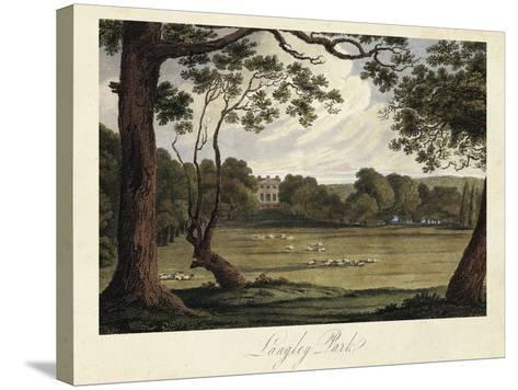 The English Countryside IV-James Hakewill-Stretched Canvas Print