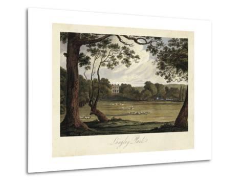The English Countryside IV-James Hakewill-Metal Print