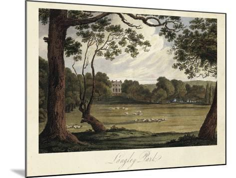 The English Countryside IV-James Hakewill-Mounted Art Print