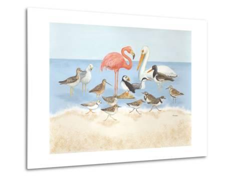 Seabird Summit-Wendy Russell-Metal Print