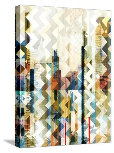 Urban Chevron I-Vision Studio-Stretched Canvas Print