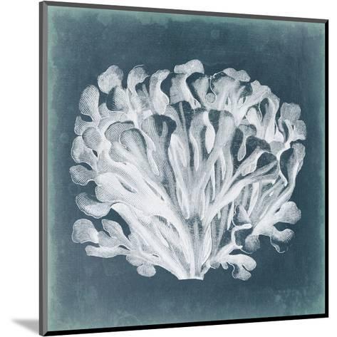 Azure Coral III-Vision Studio-Mounted Art Print