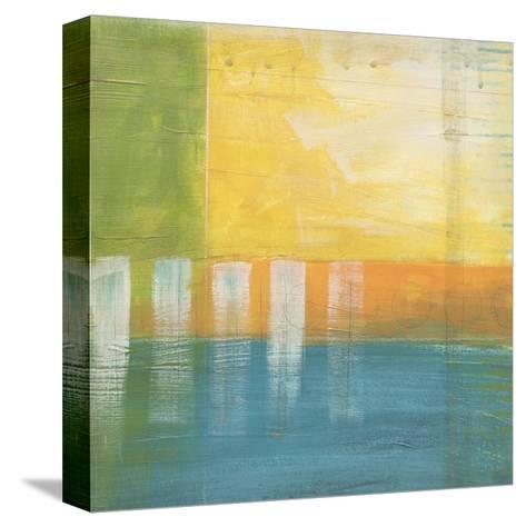 Citrus Fields I-Erica J^ Vess-Stretched Canvas Print