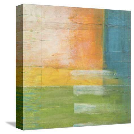 Citrus Fields II-Erica J^ Vess-Stretched Canvas Print