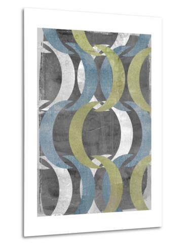 Geometric Repeat II-Jennifer Goldberger-Metal Print