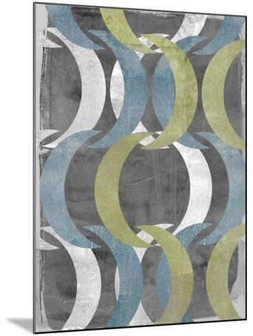 Geometric Repeat II-Jennifer Goldberger-Mounted Art Print