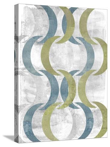 Geometric Repeat III-Jennifer Goldberger-Stretched Canvas Print