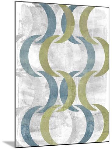 Geometric Repeat III-Jennifer Goldberger-Mounted Art Print