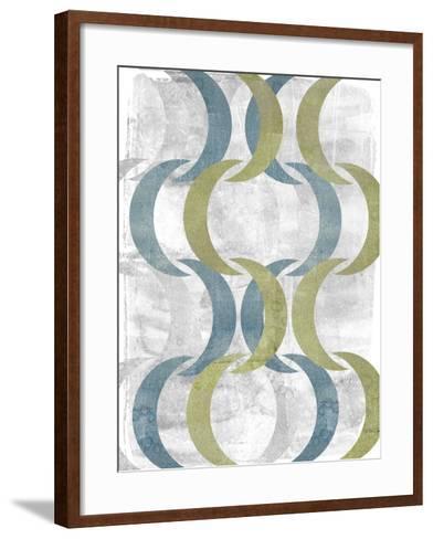 Geometric Repeat III-Jennifer Goldberger-Framed Art Print