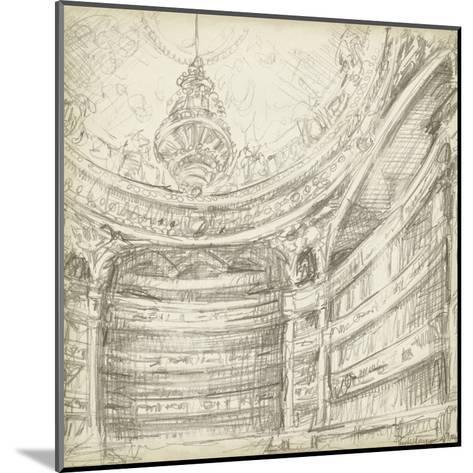 Interior Architectural Study II-Ethan Harper-Mounted Art Print