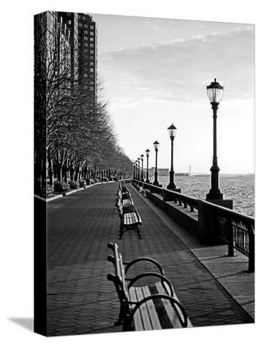 Battery Park City I-Jeff Pica-Stretched Canvas Print