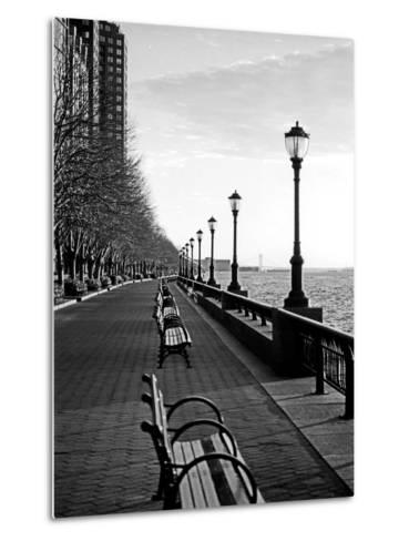 Battery Park City I-Jeff Pica-Metal Print