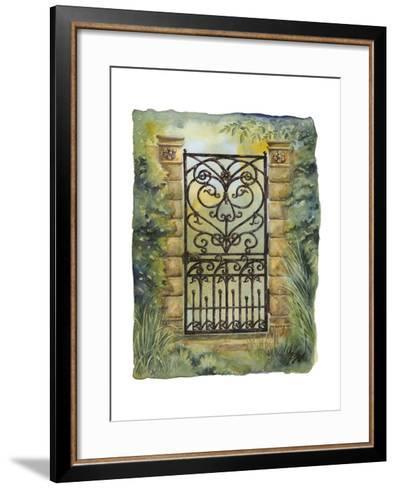 Iron Gate I-M^ Wagner-Heaton-Framed Art Print