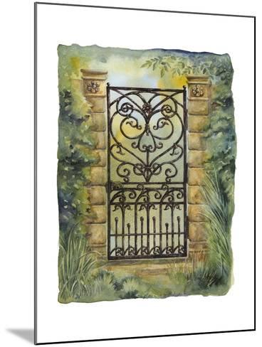 Iron Gate I-M^ Wagner-Heaton-Mounted Art Print