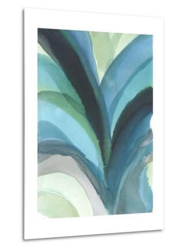 Big Blue Leaf I-Jodi Fuchs-Metal Print