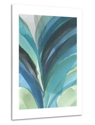 Big Blue Leaf II-Jodi Fuchs-Metal Print