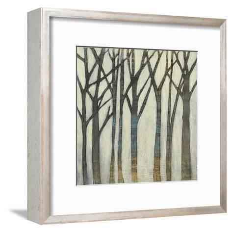 Birch Line I-Jennifer Goldberger-Framed Art Print