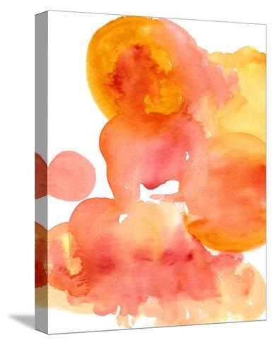 Fire Water I-Deborah Velasquez-Stretched Canvas Print
