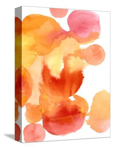 Fire Water II-Deborah Velasquez-Stretched Canvas Print