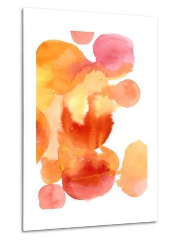 Fire Water II-Deborah Velasquez-Metal Print