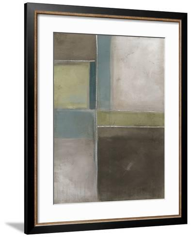 Blues at Dusk II-Erica J^ Vess-Framed Art Print