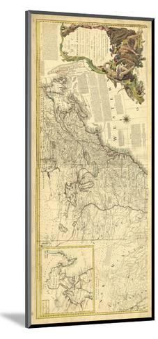 Antique Map of America IV--Mounted Art Print