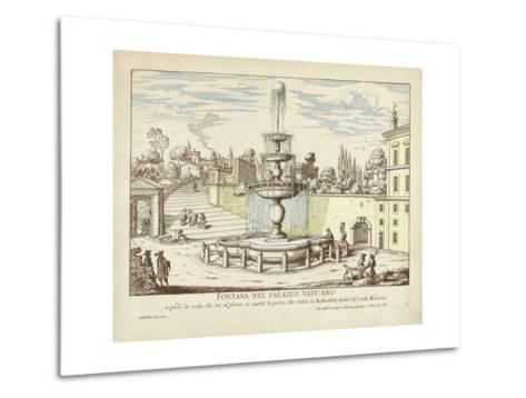 Fountains of Rome III-Vision Studio-Metal Print