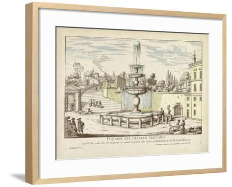 Fountains of Rome III-Vision Studio-Framed Art Print