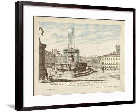 Fountains of Rome V-Vision Studio-Framed Art Print