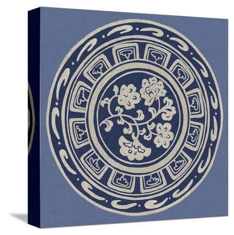 Indigo Earthenware III-Chariklia Zarris-Stretched Canvas Print