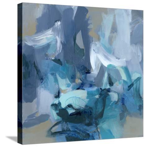 Charlotte Blue-Christina Long-Stretched Canvas Print