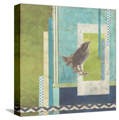 Avian Scrapbook II-Erica J^ Vess-Stretched Canvas Print