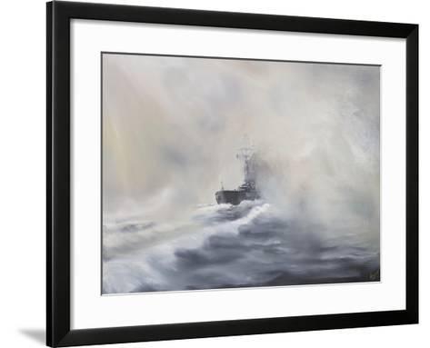 Bismarck Evades Her Persuers, May 25, 1941-Vincent Booth-Framed Art Print