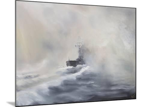 Bismarck Evades Her Persuers, May 25, 1941-Vincent Booth-Mounted Giclee Print