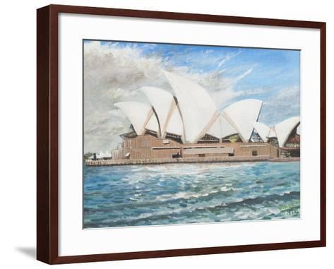 Sydney Opera House-Vincent Booth-Framed Art Print