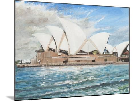 Sydney Opera House-Vincent Booth-Mounted Giclee Print