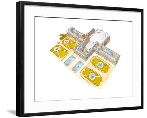Palace of Versailles, France-Fernando Aznar Cenamor-Framed Art Print