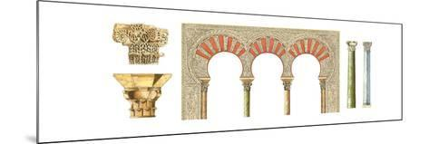 Spanish Islamic Caliphate Art, Arches, Capitals and Columns-Fernando Aznar Cenamor-Mounted Giclee Print