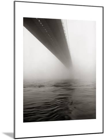 Brooklyn Bridge Fog-Henri Silberman-Mounted Photographic Print